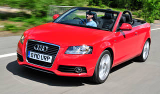 Audi A3 Cabriolet front tracking