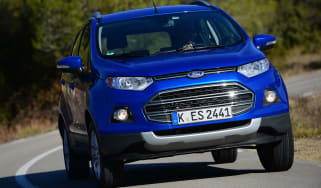 Ford EcoSport EcoBoost front action