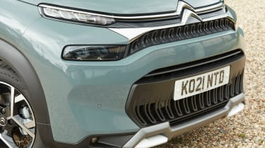 Citroen C3 Aircross facelift - front detail