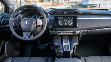 Honda Clarity - dash
