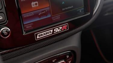 Brabus 92R - interior badge