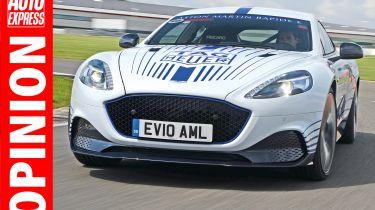 OPINION Aston Martin Rapide E