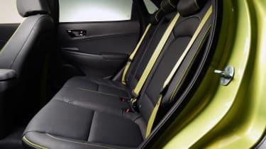 Hyundai Kona studio - rear seats