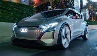 Audi AI:ME concept - front action