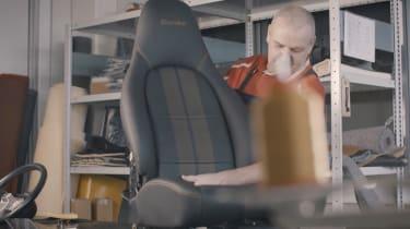 Porsche Classic Project Gold - seat