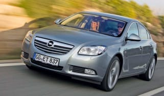 Vauxhall Insignia BiTurbo front tracking