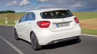 Mercedes A-Class - rear tracking