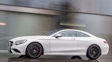 Mercedes S63 AMG profile