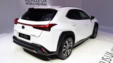 Lexus UX - Geneva rear