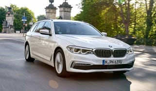 BMW 5 Series Touring - front tracking