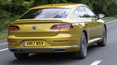Volkswagen Arteon review - rear quarter