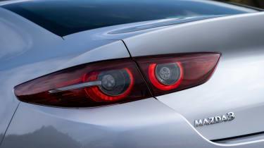 Mazda 3 saloon - rear light