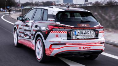 Audi Q4 e-tron prototype - rear