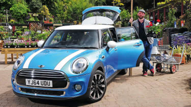 Our MINI has been put to the test whilst it's been with us, and we're sad to see it go.
