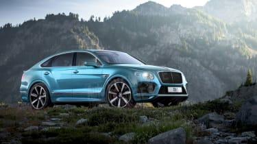 Bentley Bentayga coupe SUV - rendering wide