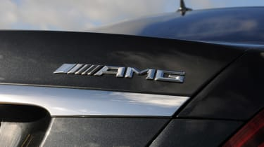 Mercedes S63 AMG 2014 badge
