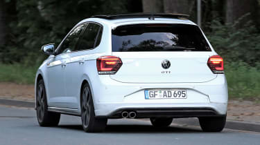 2022 VW Polo GTI spy shots