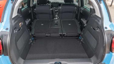 Citroen C3 Aircross - boot seats down