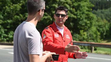 Red Arrows Aston Martin - interview