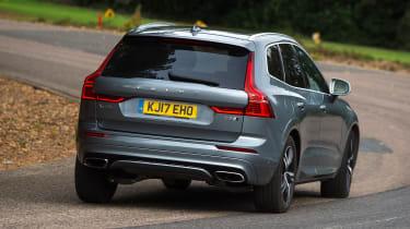 Volvo XC60 - rear action