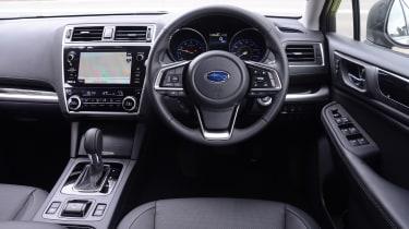 Subaru Outback - dash