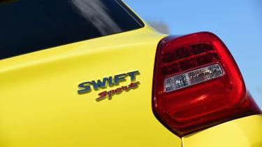 Suzuki Swift Sport - Swift Sport badge