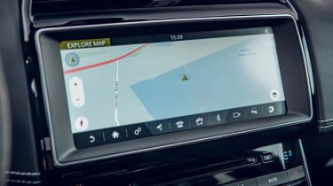 Jaguar XE Project 8 - screen