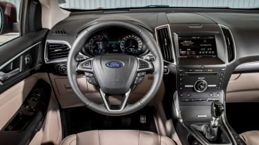 Ford Edge Titanium 2016 - interior