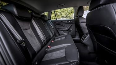 Skoda Scala - rear seats
