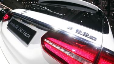 Mercedes-AMG E 63 Estate - Geneva rear detail
