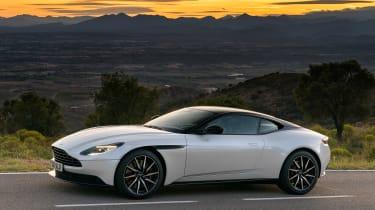 Aston Martin DB11 V8 - side sunset