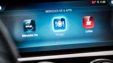 Mercedes A-Class - infotainment