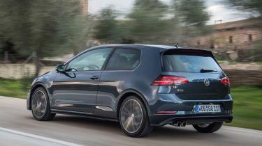 Volkswagen Golf GTD 2017 facelift - rear tracking 2