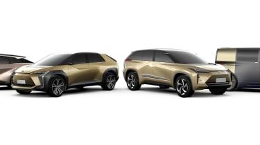 Toyota BEV concept cars