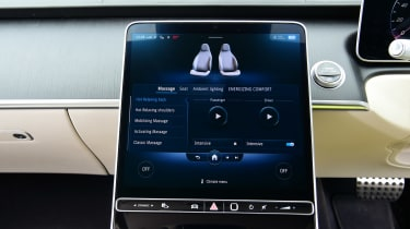 Mercedes S-Class - seat controls