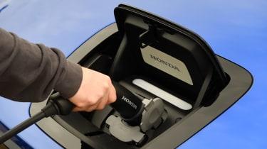 Honda e - charging