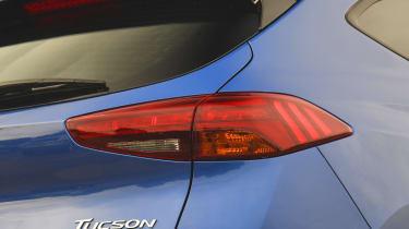 Hyundai Tucson - rear light