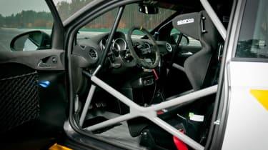 Opel Adam R2 rally car door