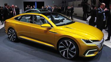 VW Sport Coupe GTE Concept - front