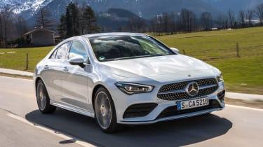 Mercedes CLA - front