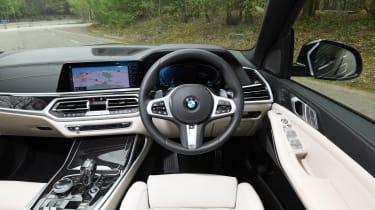 X7 interior