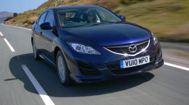 Mazda 6 front tracking