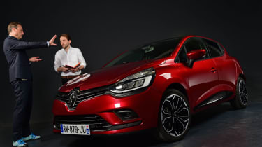 Mk4 Renault Clio studio van den Acker