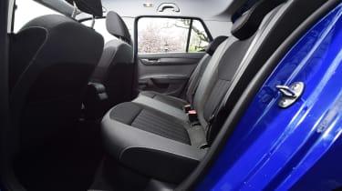 Skoda Fabia SE L: long-term test review - first report rear seats