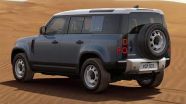 Luke Wilkinson Land Rover Defender rear