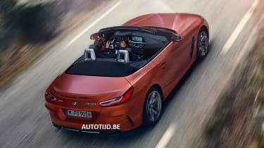 New BMW Z4 rear quarter
