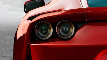 Ferrari 812 Superfast details rear lights