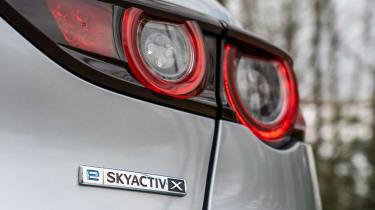 Mazda 3 e-SkyActiv X - e-SkyActiv X badge
