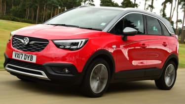 Vauxhall Crossland X most economical SUVs