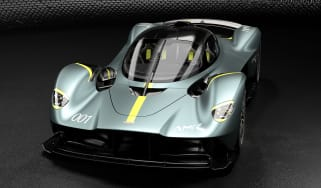 Aston Martin Valkyrie AMR Track Performance Pack Stirling Green and Lime - front